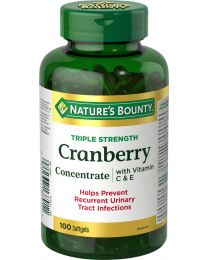 CRANBERRY WITH VIT C&E 100