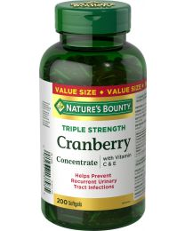 CRANBERRY WITH VIT C&E 200