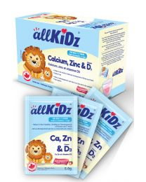 allKiDz Calcium, Zinc & Vitamin D3 (Drink mix)