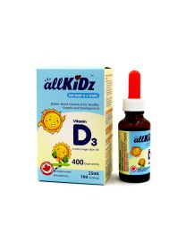 allKiDz Vitamin D3 Drops (for babies)
